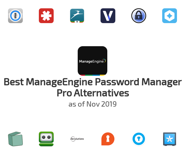 Best ManageEngine Password Manager Pro Alternatives