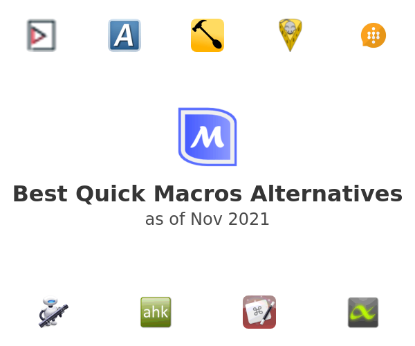 Best Quick Macros Alternatives