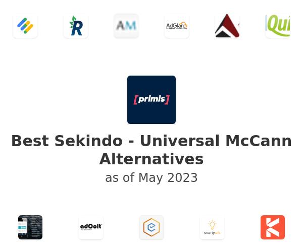 Best Sekindo - Universal McCann Alternatives
