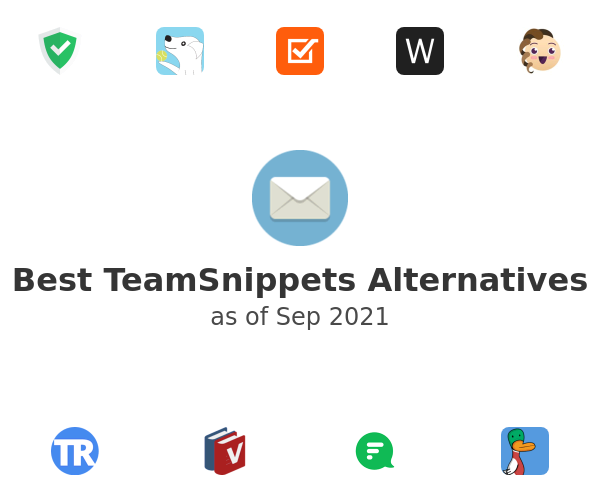 Best TeamSnippets Alternatives