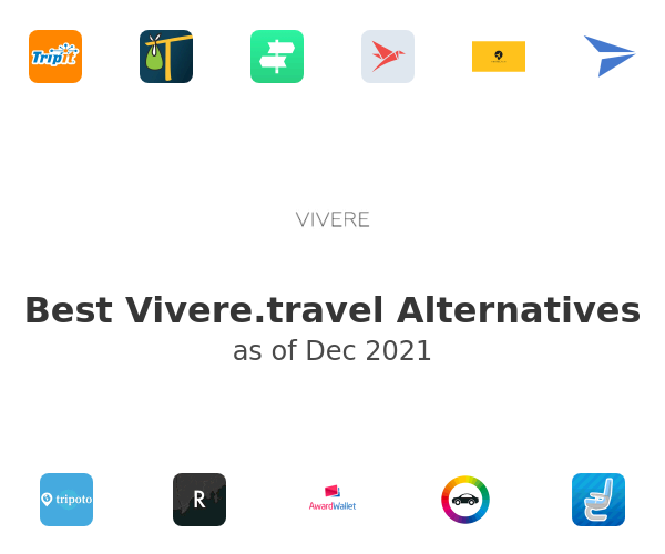 Best Vivere.travel Alternatives