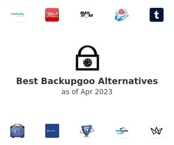 Best Backupgoo Alternatives