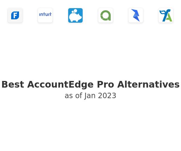Best AccountEdge Pro Alternatives