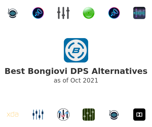 Best Bongiovi DPS Alternatives