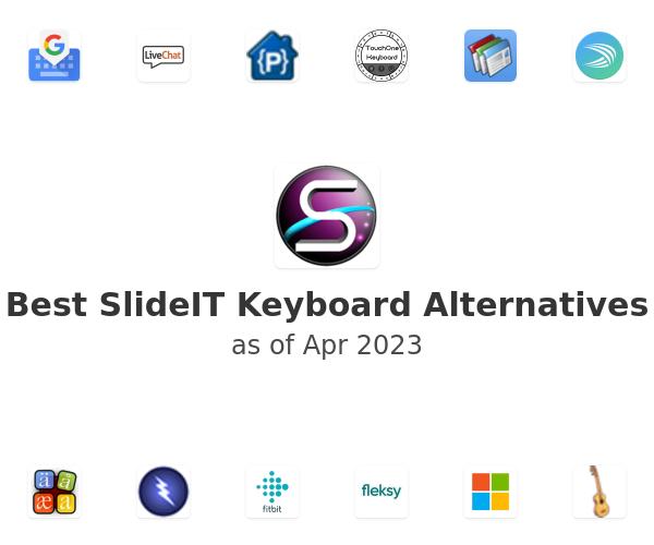 Best SlideIT Keyboard Alternatives