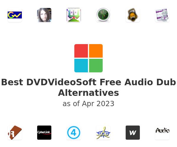 Best Free Audio Dub Alternatives