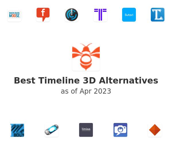 Best Timeline 3D Alternatives
