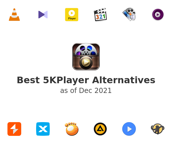 Best 5KPlayer Alternatives