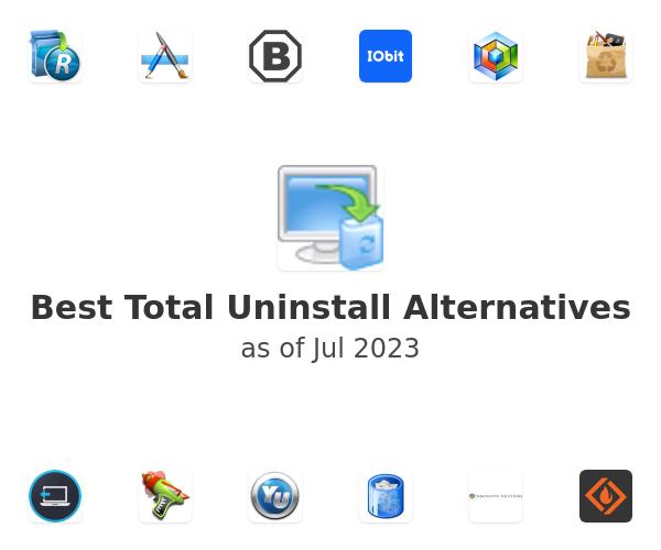 Best Total Uninstall Alternatives