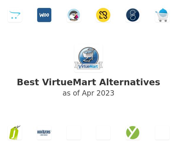Best VirtueMart Alternatives
