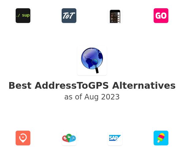 Best AddressToGPS Alternatives