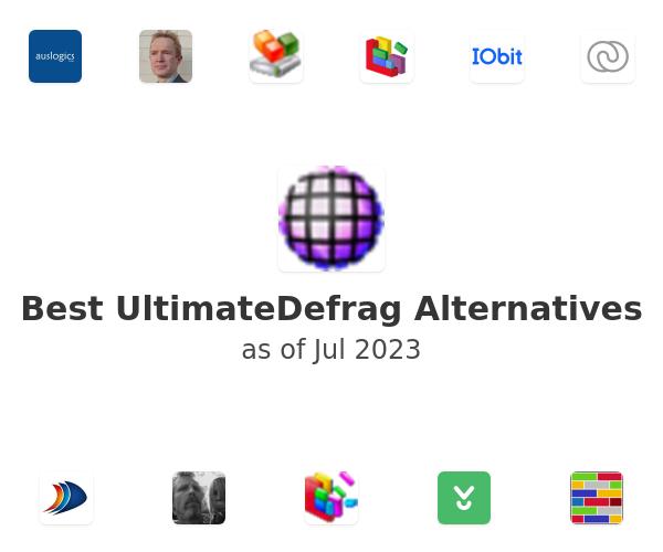 Best UltimateDefrag Alternatives