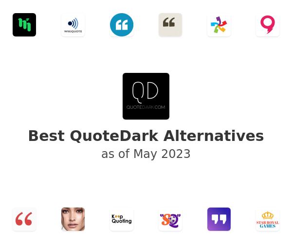 Best QuoteDark Alternatives