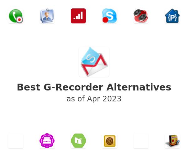 Best G-Recorder Alternatives