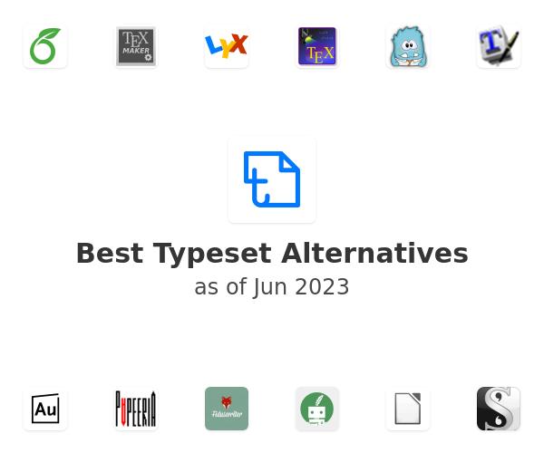 Best Typeset Alternatives