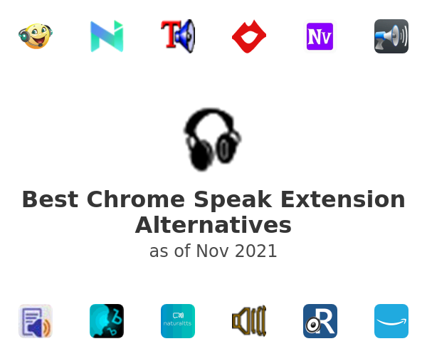 Best Chrome Speak Extension Alternatives