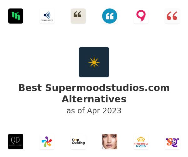 Best SUPERMOOD Alternatives