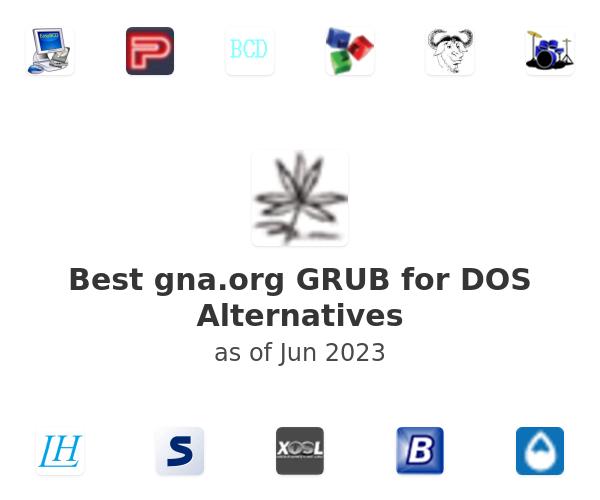 Best GRUB for DOS Alternatives