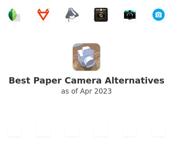 Best Paper Camera Alternatives