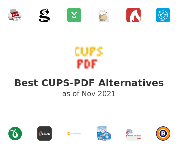Best CUPS-PDF Alternatives