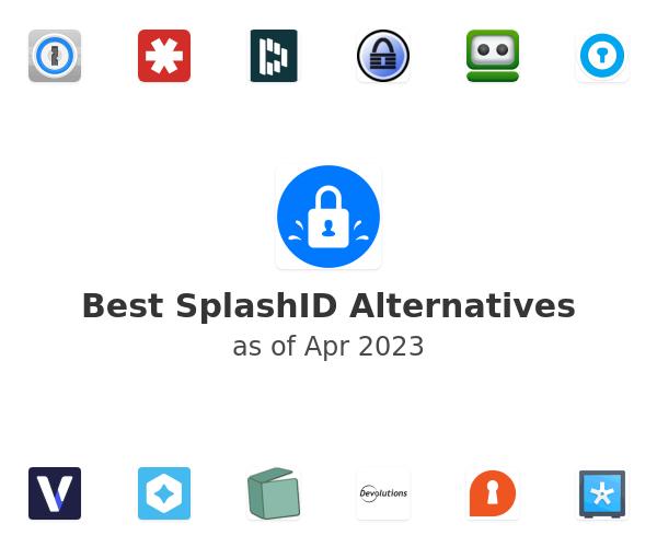 Best SplashID Alternatives