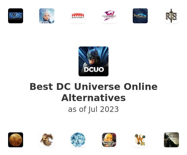 Best DC Universe Online Alternatives