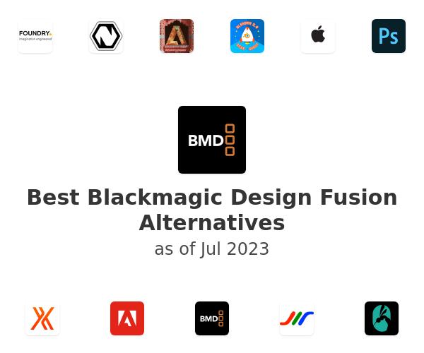 Best Blackmagic Design Fusion Alternatives
