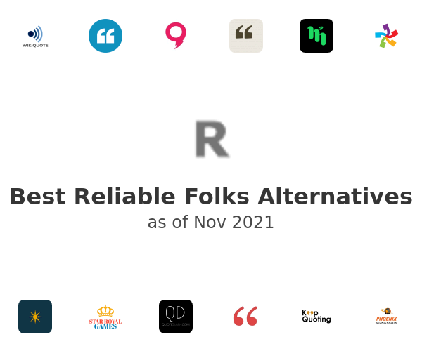 Best Reliable Folks Alternatives