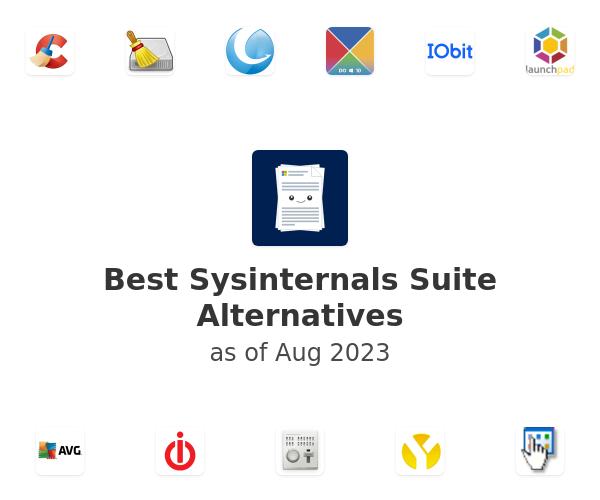 Best Sysinternals Suite Alternatives