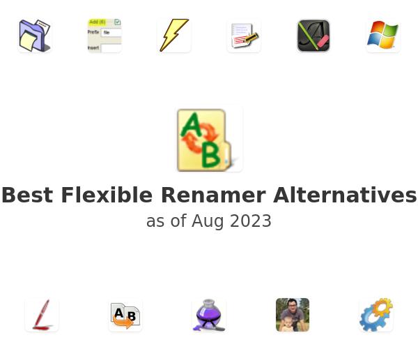 Best Flexible Renamer Alternatives