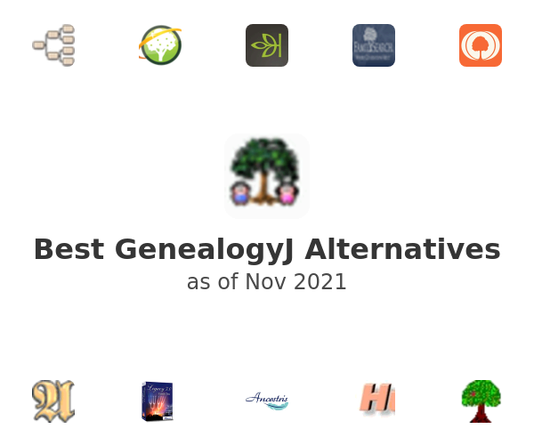 Best GenealogyJ Alternatives