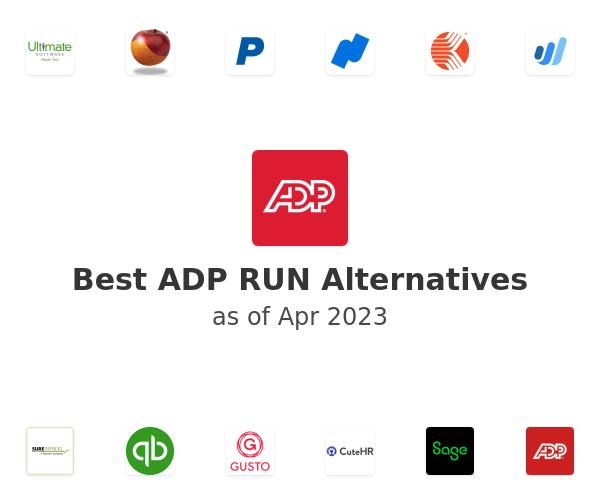 Best ADP RUN Alternatives
