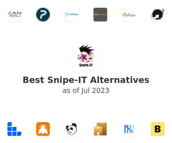 Best Snipe-IT Alternatives