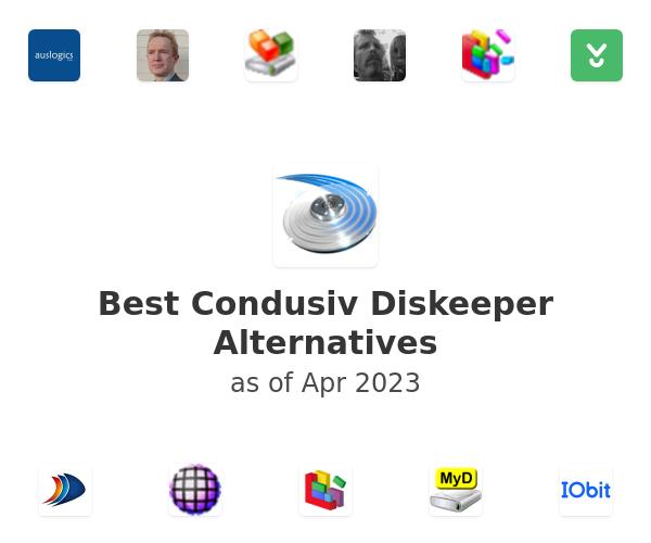 Best Condusiv Diskeeper Alternatives