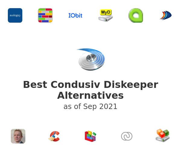 Best Condusiv Diskeeper Alternatives