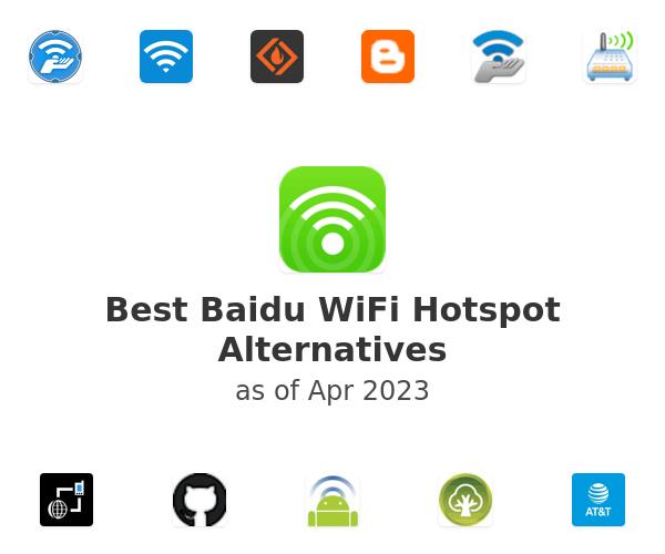 Best Baidu WiFi Hotspot Alternatives