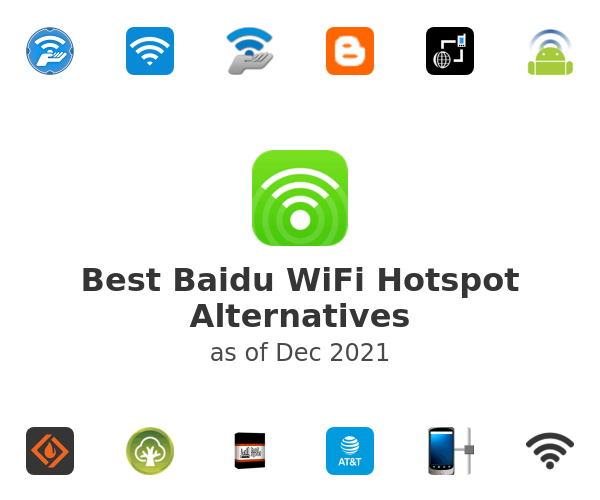 Best Baidu WiFi Hotspot Alternatives