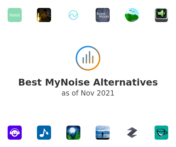 Best MyNoise Alternatives