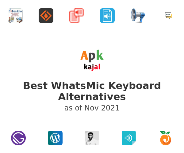Best WhatsMic Keyboard Alternatives