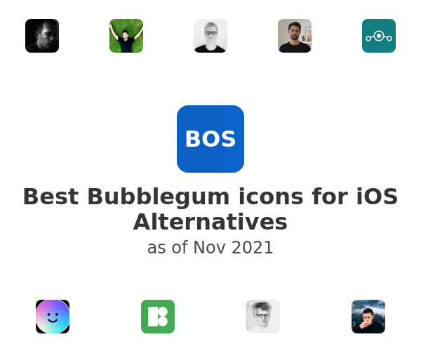 Best Bubblegum icons for iOS Alternatives