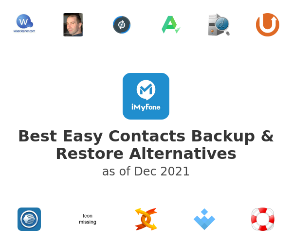 Best Easy Contacts Backup & Restore Alternatives