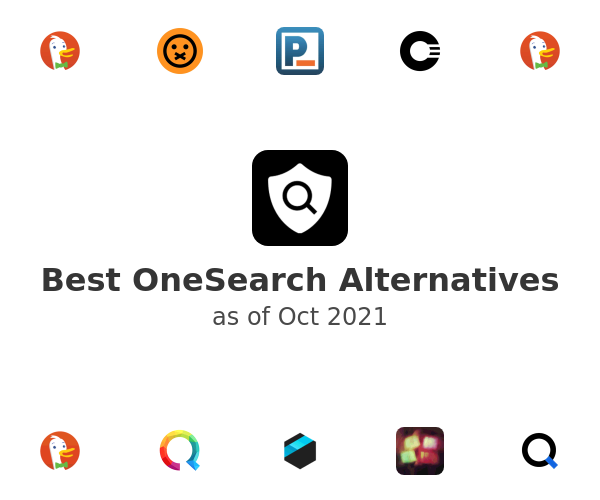 Best OneSearch Alternatives
