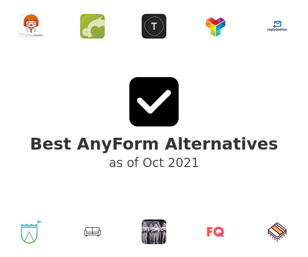 Best AnyForm Alternatives