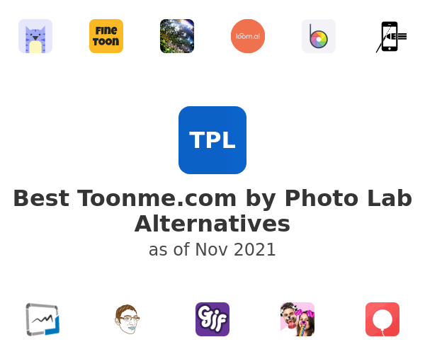 Best Toonme.com by Photo Lab Alternatives