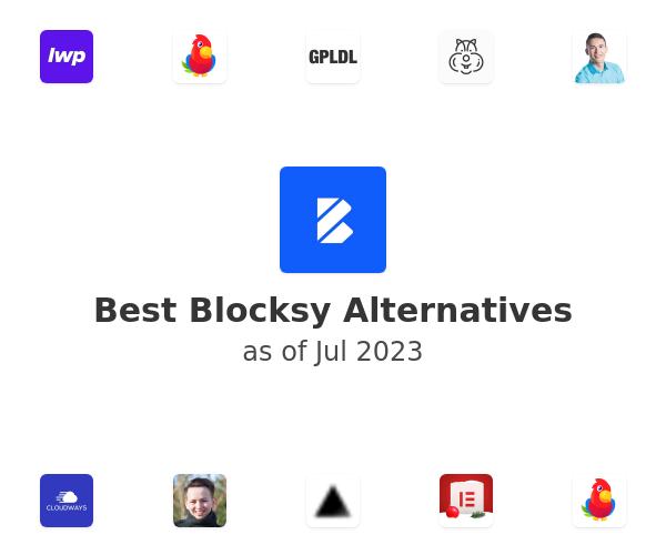 Best Blocksy Alternatives