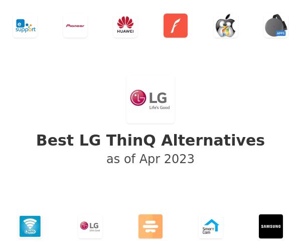 Best LG ThinQ Alternatives