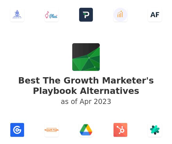 Best The Growth Marketer's Playbook Alternatives