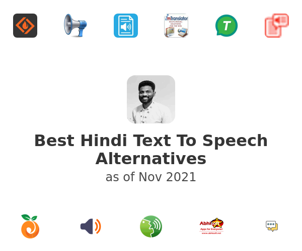 Best Hindi Text To Speech Alternatives