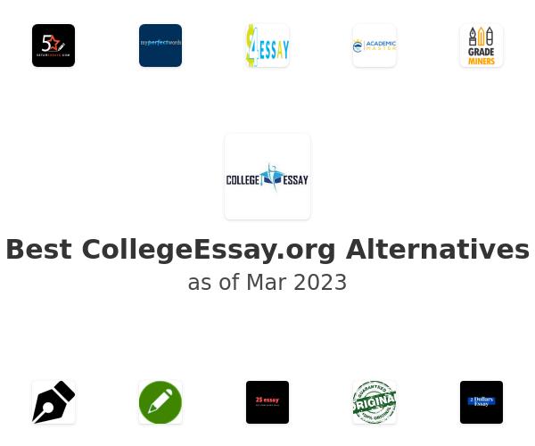 Best CollegeEssay.org Alternatives