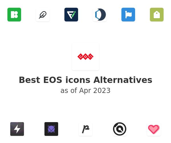 Best EOS icons Alternatives
